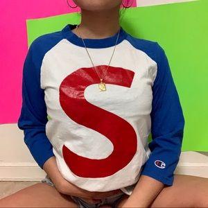 "chpion ""s"" crewneck sweater ✧"